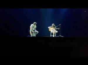 Javi lobo con Nacho Martin improvisando un poco por bulerias en el Festival de Waslala 2015-16